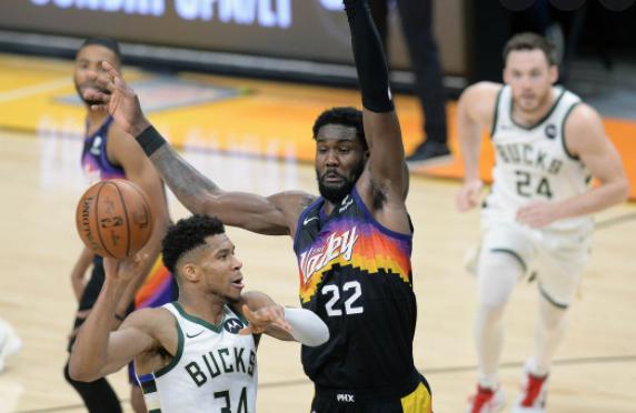 Bucks defeated Suns quarter-finals